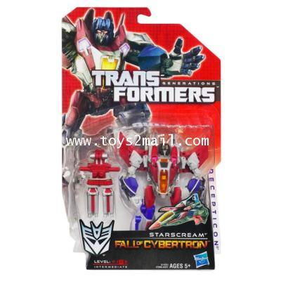 TRANSFORMERS FALL OF CYBERTRON : DX STARSCREAM [SOLD OUT]