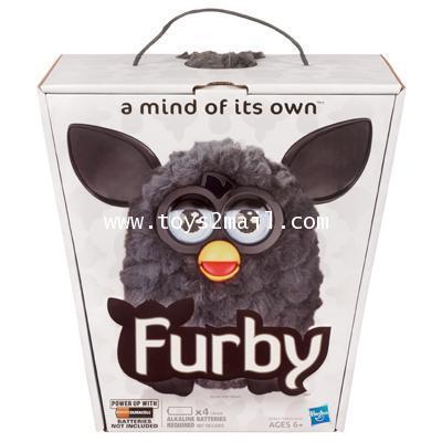 NEW FURBY 2013 : FURBY BLACK สีดำล้วน มาดขรึมๆ น่ารักครับ English Ver. [2]