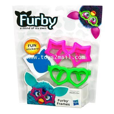 NEW FURBY 2013 : FURBY FRAMES PINK  GREEN [ORDER]