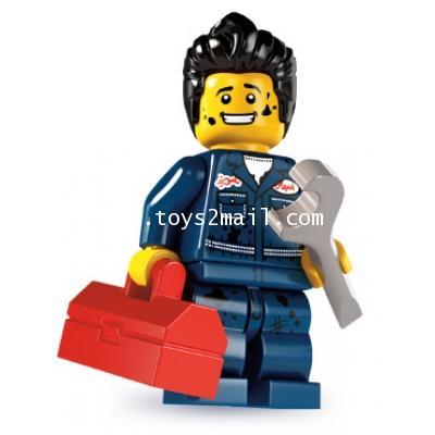 LEGO : LEGO MINI FIGURE SERIES 6 : No.15 MECHANIC [1]