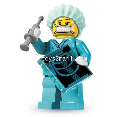 LEGO : LEGO MINI FIGURE SERIES 6 : No.11 DOCTOR หญิง [SOLD OUT]