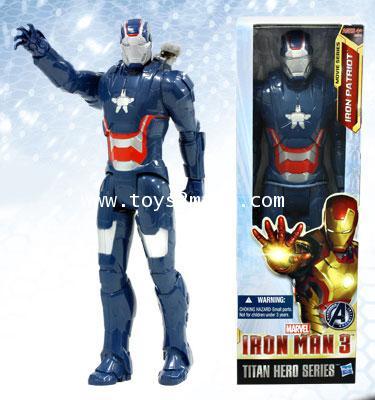 IRON MAN 3 : TITAN HERO MOVIE SERIES : IRON PATRIOT สูง 12 นิ้ว [SOLD OUT]