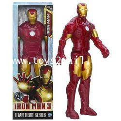 MARVEL TITAN HERO SERIES : THE AVENGERS CLASSIC IRON MAN MK III [SOLD OUT]