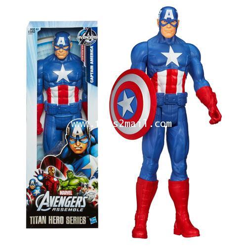 [ล้างสต๊อก] TITAN HERO SERIES : THE AVENGERS CAPTAIN AMERICA สินค้าขนาดใหญ่สูง 12 นิ้ว [6]