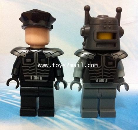 LEGO CUSTOM : CUSTOM LEGO MINI FIGURE [ FUTURE COP + AI. ] [SOLD OUT]