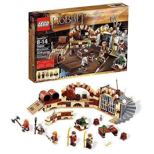 LEGO HOBBIT : N0.79004 THE HOBBIT BARRAL ESCAPE [SOLD OUT]