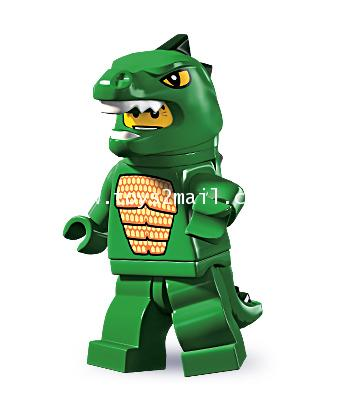LEGO : LEGO MINI FIGURE SERIES 5 : No.6 LIZARD MAN มนุษย์ตุ๊กเข้ [SOLD OUT]