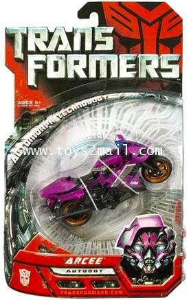 TRANSFORMERS MOVIE : MA-11 DX AUTOBOT ARCEE TAKARA หายากมากๆครับ [1]