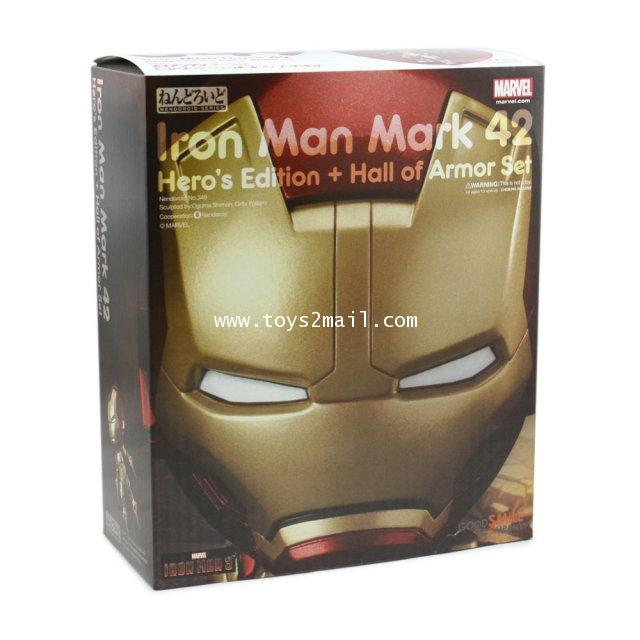 Nendoroid : No. 349 IRON MAN MK 42 HERO EDITION HALL OF ARMOR SET JP [SOLD OUT]