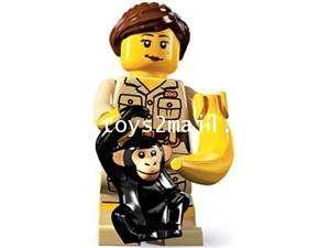 LEGO : LEGO MINI FIGURE SERIES 5 : No.07 ZOOKEEPER เจ้าหน้าที่สวนสัตว์ [SOLD OUT]