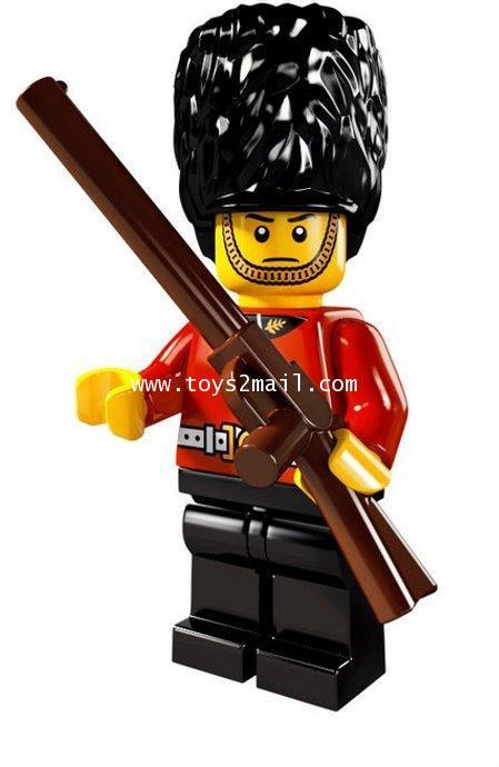 LEGO : LEGO MINI FIGURE SERIES 5 : No.03 ROYAL GUARD กองทหารรักษาพระองค์ [SOLD OUT]