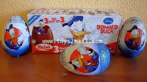 MAGIC KINDER : ZAINI CHOCOLAT EGGS : DISNEY DONALD DUCK ของเล่นไข่น้องใหม่จากอิตาลี่ [SOLD OUT]