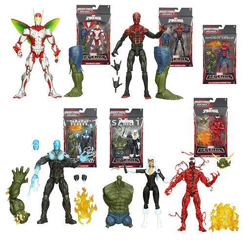 THE AMAZING SPIDER-MAN 2 : ครบชุด 6 กล่อง มีชิ้นส่วน BAF ให้ครบถ้วน สินค้าใหม่ล่าสุด [SOLD OUT]