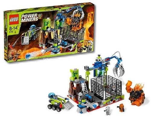 LEGO POWER MINERS : No. 8191 POWER MINERS ชุดดักจับ LAVA TITAN [SOLD OUT]