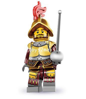 LEGO : LEGO MINI FIGURE SERIES 8 : No.02 Conquistador ทหารเสือ [SOLD OUT]