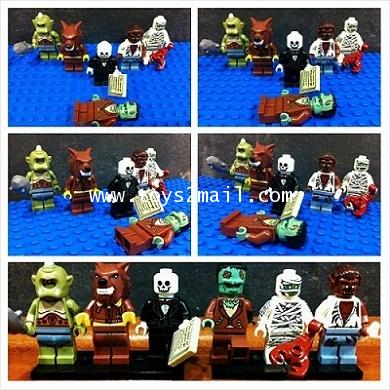 LEGO COLLECTION CUSTOM : HORROR HALLOWEEN SET เลโก้ชุดสยองขวัญ 6 Minifigure [SOLD OUT]