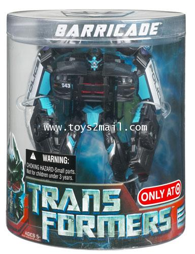 TRANSFORMERS MOVIE : DX BARRICADE ALLSPARK TARGET EXCLUSIVE หายากครับ [RARE] [SOLD OUT]