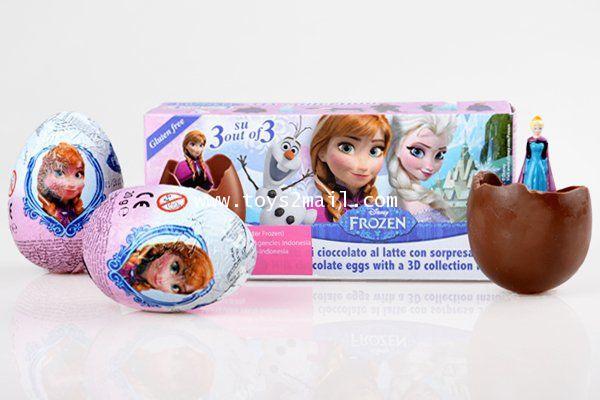 MAGIC KINDER : ZAINI CHOCOLAT EGGS : FROZEN ของเล่นไข่น้องใหม่ล่าสุดจากอิตาลี่ [SOLD OUT]