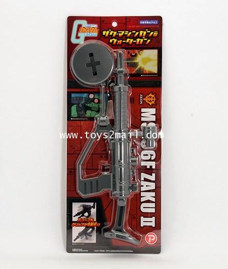BANDAI : MS-06F ZAKU II MACHINE GUN WATER GUN ปืนฉีดน้ำแซ็ค สินค้าจากญี่ปุ่น [SOLD OUT]