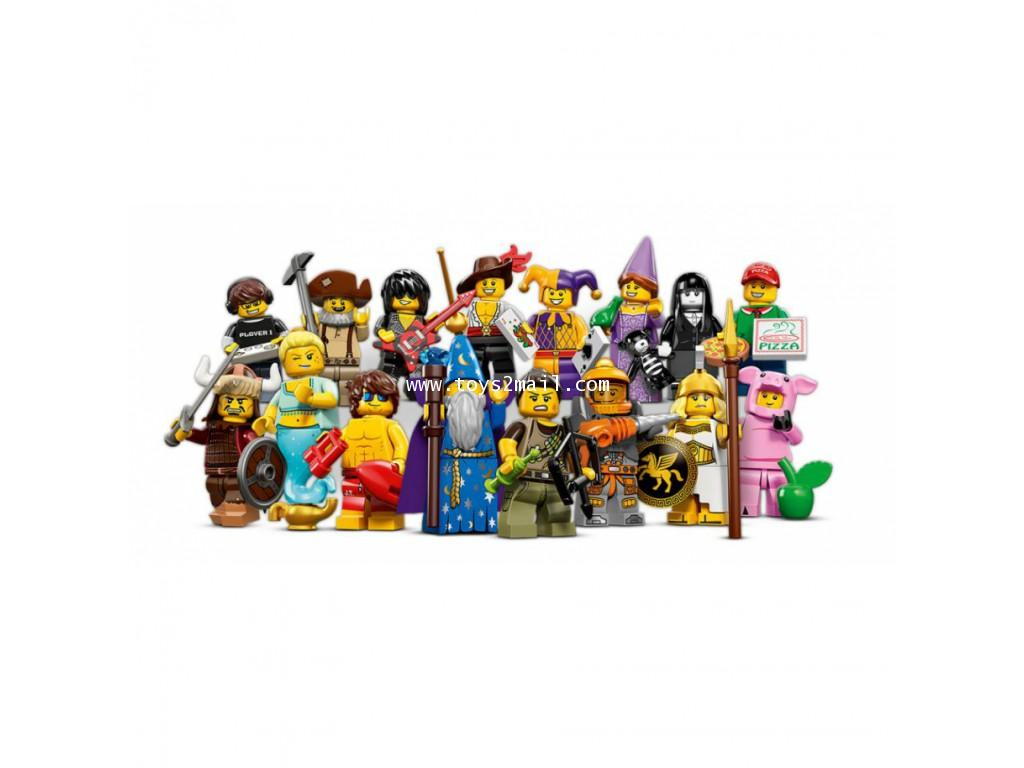 LEGO MINI FIGURE SERIES 12 ครบชุด 16 แบบ ซองสีเหลืองใหม่ล่าสุด พร้อมโค๊ท GAME Online [RARE] [1]