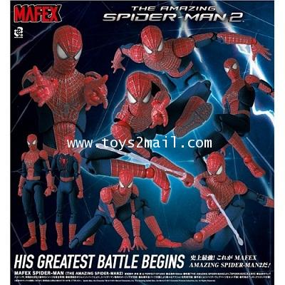 AF : MAFEX 003 THE AMAZING SPIDER-MAN 2 สินค้าหายาก [RARE] [SOLD OUT]