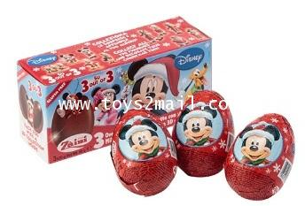 MAGIC KINDER : ZAINI CHOCOLAT EGGS : MICKEY CHRISTMAS ของเล่นไข่น้องใหม่ล่าสุดจากอิตาลี่ [SOLD OUT]