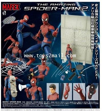 AF : MAFEX 004 THE AMAZING SPIDER-MAN 2 COMPLETE BOX SET ล๊อตญี่ปุ่น [SOLD OUT]