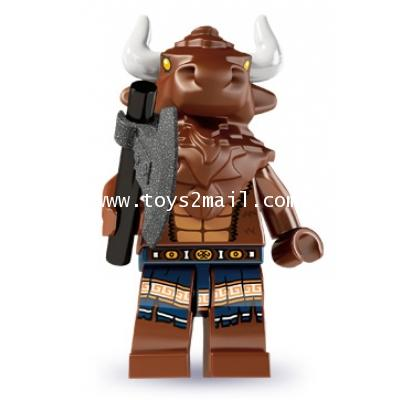 LEGO : LEGO MINI FIGURE SERIES 6 : No.06 Minotau นักรบสัตว์อสูร มิโนทอล [2]
