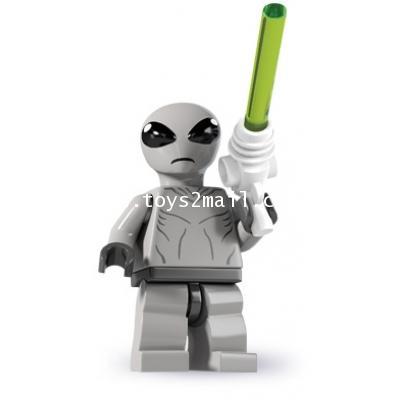 LEGO : LEGO MINI FIGURE SERIES 6 : No.01 CLASSIC ALIEN เอเลี่ยนวัยเก๋า สุดคลาสสิค [1]