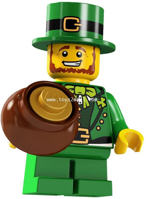 LEGO : LEGO MINI FIGURE SERIES 6 :No.09 Leprechaun ภูติตัวจิ๋ว [1]