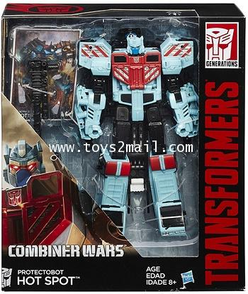TRANSFORMERS COMBINER WARS : VOYAGER CLASS HOT SPOT HASBRO [SOLD OUT]