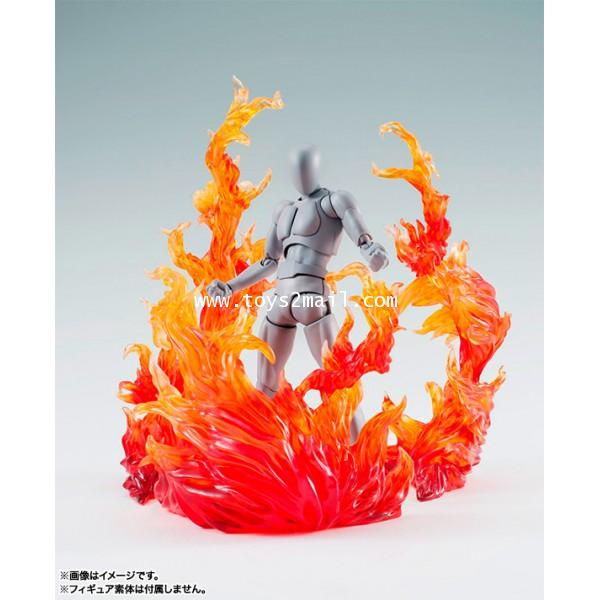 BANDAI : S.H.Figuarts TAMASHII NATIONS EFFECT BURNING FLAME RED Ver. bandai [SOLD OUT]