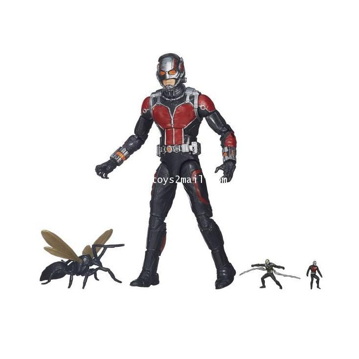 MARVEL LEGEND : 2015 ANT-MAN ULTRON SERIES : ANT-MAN MOVIE ไม่มีชิ้นส่วน BAF [OPEN IT!!!] [SOLD OUT]