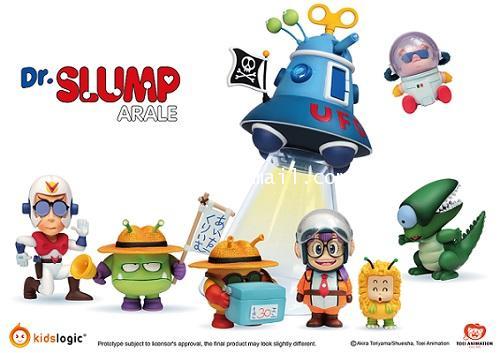 Kids Logic : Kids Nations AR02 Dr Slump Arale ชุดที่ 2 สินค้าจาก Kids Logic [SOLD OUT]