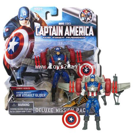 CAPTAIN AMERICA : DELUXE Mission Pack No.03 CAPTAIN AMERICA AIR ASSAULT GLIDER [1]