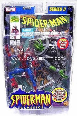 MARVEL LEGEND TOY BIZ : 2001 MARVEL LEGEND SERIES II : SPIDER-MAN CLASSIC FOIL POSTER [RARE] [1]