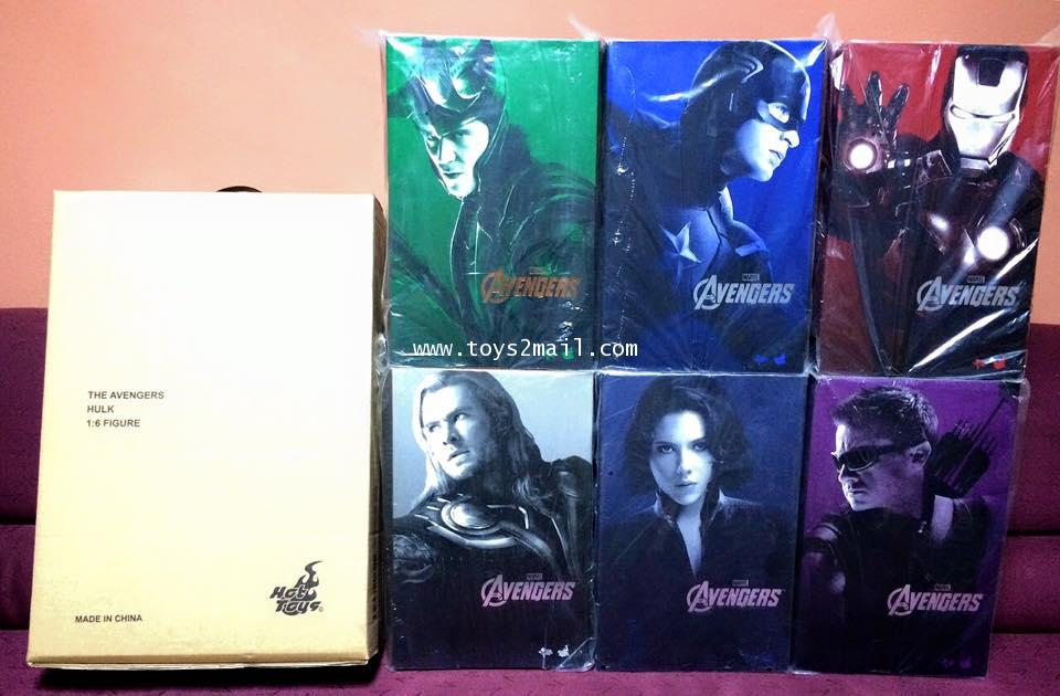 HOT TOYS : หาคนสานต่อความฝัน HOTTOYS MARVEL AVENGERS [SOLD OUT]