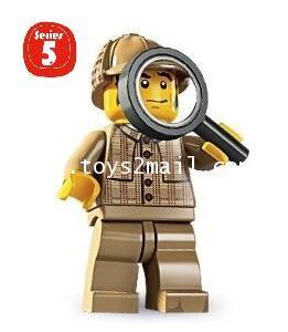 LEGO : LEGO MINI FIGURE SERIES 5 : No.11 PRIVATE DETECTIVE นักสืบเอกชน [1]