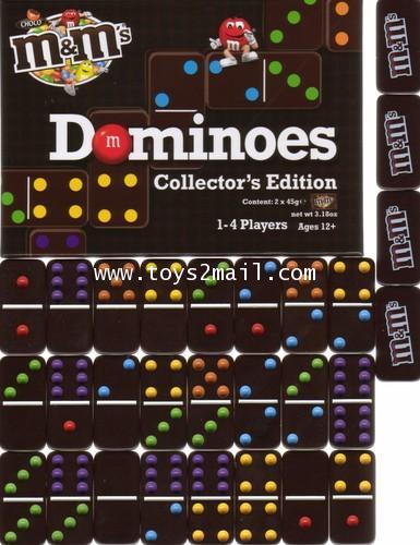MASCOT : MM DOMINOES Collector\'s Edition SET ชุดโดมิโน MM [1]