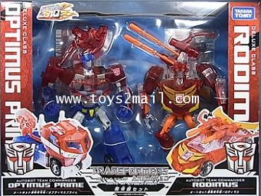 TRANSFORMERS ETC : TRANSFORMERS ANIMATED SON OF CYBERTRON 2010 LIMITED TAKARA  [1]