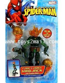 MARVEL LEGEND TOY BIZ : 2006 THE AMIZING SPIDER-MAN SERIES : MAD JACK FLAME  LRUNCH [1]