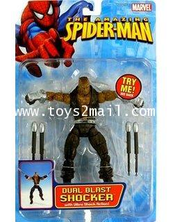 MARVEL LEGEND TOY BIZ : 2006 THE AMIZING SPIDER-MAN SERIES : DUAL BLAST SHOCKER [2]