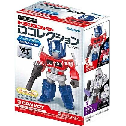 TRANSFORMERS ETC : CANDY TOYS TRANSFORMERS G1 CLASSIC Kabaya D-Collection Series 1 [2 SET]
