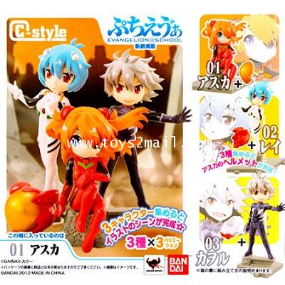 CANDY TOYS : C-STYLE EVANGELION @ SCHOOL [ A TYPE ใบหน้าปกติ ] [SOLD OUT]