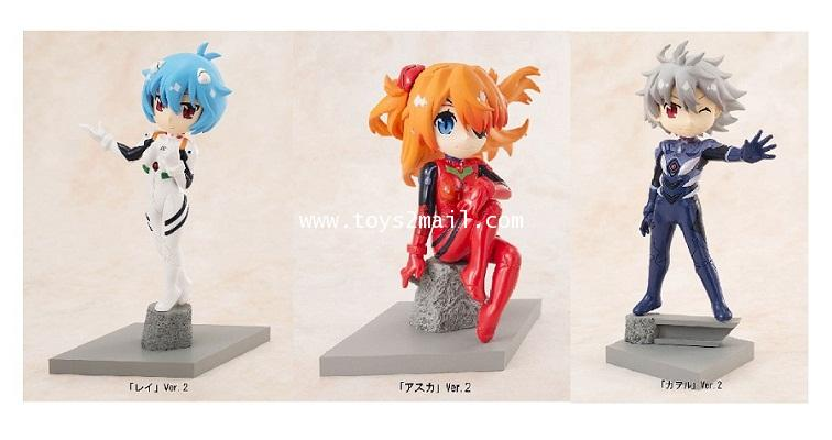 CANDY TOYS : C-STYLE EVANGELION @ SCHOOL [ B Type ใบหน้ายิ้ม ] [SOLD OUT]