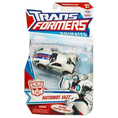 TRANSFORMER ANMATED 2008 : DX AUTOBOT JAZZ HASBRO [SOLD OUT]