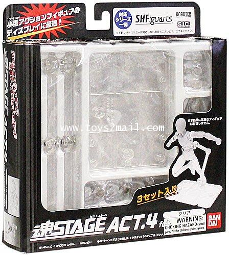 BANDAI : S.H.Figuarts TAMASHII NATIONS STAGE ACT-4  CLEAR Ver. bandai [SOLD OUT]