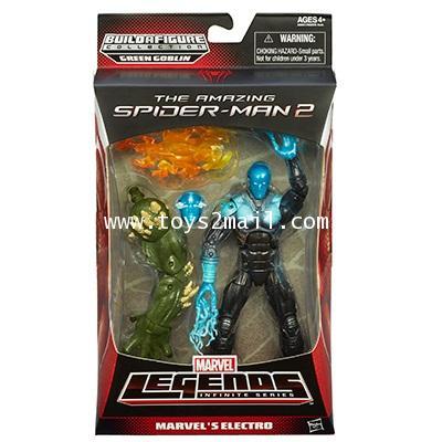 THE AMAZING SPIDER-MAN 2 : MARVEL\'S ELECTRO จุดขยับเทพ พร้อมชิ้นส่วน BAF. [2]
