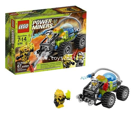 LEGO POWER MINERS : No. 8188 POWER MINERS : FIRE BLASTER [RARE] [SOLD OUT]