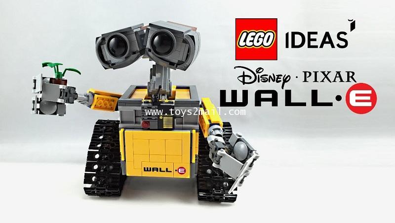 LEGO IDEAS : No.21303 Disney PIXAR : WALL-E [SOLD OUT]